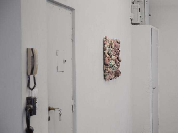 LOW Mirko Canesi_Rocaille part_2017_90x60 cm (exhibition view)